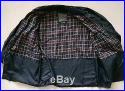 Orvis Field Coat Jacket Waxed Beaufort M (42) Blue Hunting Fishing Rrp £250