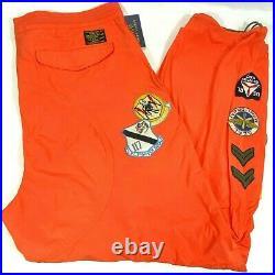 POLO RALPH LAUREN Classic Fit Squadron Patched Flight Pants Men's Sz XL $228