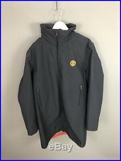 PRADA MANCHESTER UNITED GORE TEX Jacket XL Navy Great Condition Mens