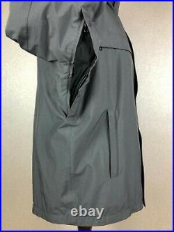 PRADA SGV 155 Men's Gore-Tex Hooded Hunter Grey Ski Jacket Size 52