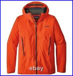 Patagonia Galvanized Men's Waterproof RECCO Ski Jacket Red XL RRP £320