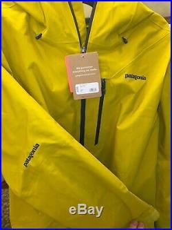 Patagonia Men's Snowshot Jacket Large (L)Textile Green Ski/Snowboard