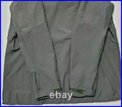 Patagonia Mens Extra Large Gray Orange Powder Bowl Gore Tex Shell Jacket