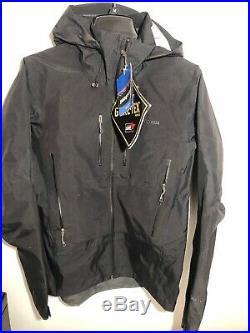 Patagonia Mens Triolet Jacket Classic Black GORETEX Rain Waterproof windproof Sm