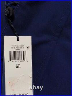Polo Ralph Lauren Down Jacket, 650-fill XL, Navy, faux fur, MSRP $498