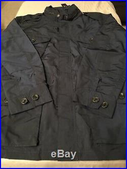 Polo Ralph Lauren Field Jacket With Hidden Hood 2XL XXL Navy Blue $325.00