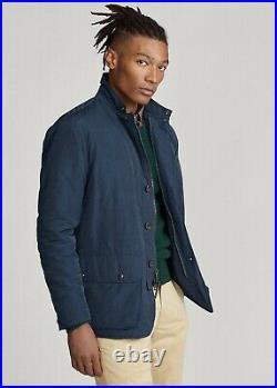 Polo Ralph Lauren Gentleman Oxford Water Resistant Sport Coat Blazer Jacket Men