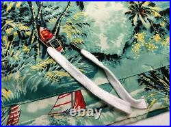 Polo Ralph Lauren Hawaiian Sailing Nautica Hooded Popover Henley Hoodie Pullover
