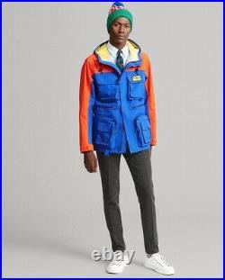 Polo Ralph Lauren Hi-Tech Utility Field Jacket XXL Waterproof Sports Anorak 2XL