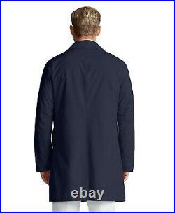 Polo Ralph Lauren Oxford Gentleman Packable Commuter Rain Jacket Trench Coat Men