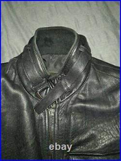 Prada Men's Leather Bomber Jacket