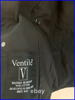 Private White VC Black 100% Waterproof Ventile Jacket Brand New £795