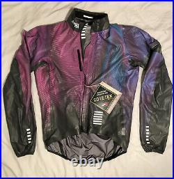 Rapha Pro Team Lightweight GORE-TEX Jacket Changeout Flight print Small