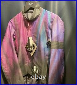 Rapha Pro Team Lightweight Gore-Tex Shakedry Flight Print Jacket, Cap & Gels