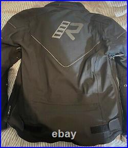 Rukka Nivala/Realer Gore-Tex Waterproof Motorcycle Jacket size 50 medium