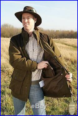 Sherwood Forest Kensington Jacket Mens Waterproof Hunting Fishing Shooting Coat