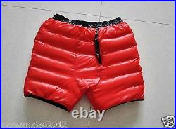 Shiny Glossy Nylon Wet-Look Jogging Down Shorts Short Trousers Sweatpants Pants
