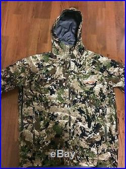 Sitka Cloudburst Jacket Gore Tex SubAlpine Large NWOT