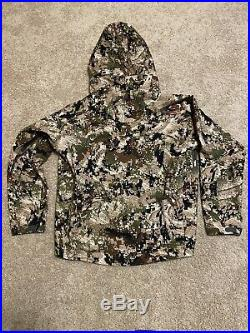 Sitka Cloudburst Jacket X-Large Subalpine GORETEX Waterproof Mint Condition