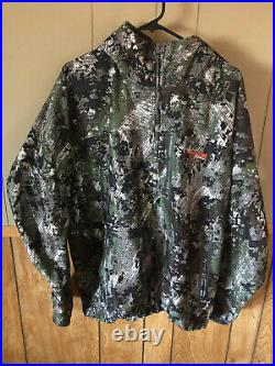 Sitka Downpour Gore-tex Jacket Elevated I Forest Extra Large