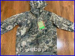 Sitka Flash Pullover Jacket Open Country Large