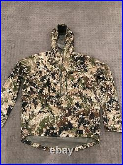 Sitka Gear Flash Pullover- Large- Subalpine Rainwear Mint! FREE SHIPPING