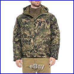 Sitka Gear Men's Kelvin PrimaLoft Down Optifade Ground Forest Hunting Jacket