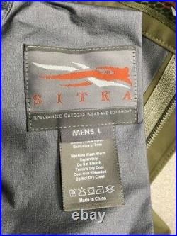 Sitka Stormfront Pant, Size L in Moss