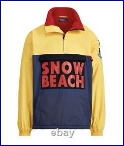 Snow Beach Polo Ralph Lauren Pullover Jacket Men Never Worn Medium 100 Authentic