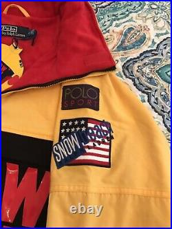 Snow Beach Polo Ralph Lauren Pullover Jacket Men Nwt Small 100% Authentic
