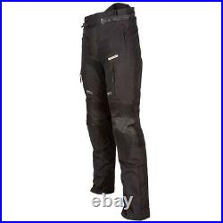 Spada Turini Waterproof Touring Motorcycle Trousers Thermal Motorbike Black
