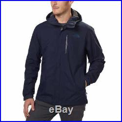 THE NORTH FACE Men's Hooded Dryzzle Rain Jacket with GORE-TEX NEW XL Grey NWT NEW