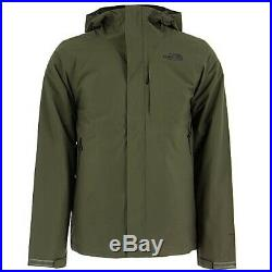 THE NORTH FACE Men's M Medium TNF Carto Triclimate Jacket 3-in-1 Taupe Green