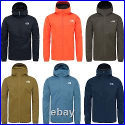 THE NORTH FACE TNF Quest Waterproof Outdoor Hiking Trekking Jacket Hooded Mens