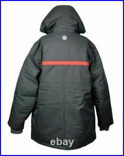 Tampa Bay Buccaneers Mens Size 2XL Nike Storm On Field Down Parka Superbowl Gray