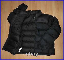 The North Face 1996 Nuptse 700 Down Black Puffa Puffer Jacket Coat Medium Black