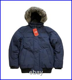 The North Face Gotham III 550 Fill Down Parka Jacket Navy Blue New WithTag Men XXL