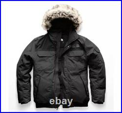 The North Face Gotham III Men's Small 550-Down Warm Insulated Winter Parka Grey