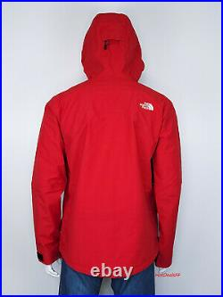 The North Face Men's LRG Mountain Pro GTX Gore Tex 3L Hard Shell Ski Jacket RED