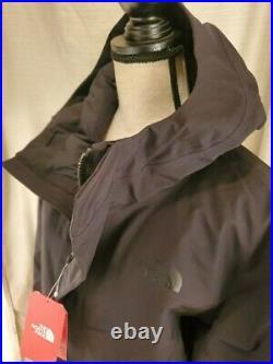 The North Face Men's STRATUS DOWN PARKA Coat Jacket GORE-TEX TNF Black M $600
