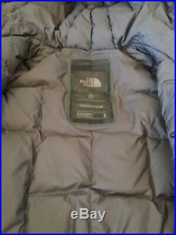 The North Face Mens CRYOS WOOL BLEND DOWN PARKA Gore-Tex Jacket M BLK Camo $750
