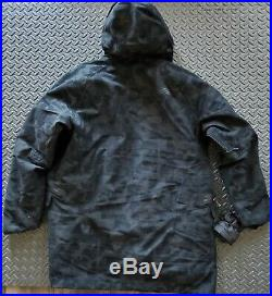 The North Face Mens CRYOS WOOL BLEND DOWN PARKA Gore-Tex Size XXL BLK Camo $750