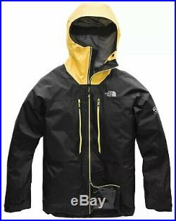 The North Face Summit Series L5 GTX Pro Gore-Tex Mens Jacket Black/Yellow $650