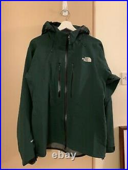 The North Face Summit Series men's shell jacket (Green, XL/Japan = L Europe)