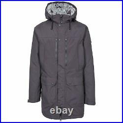 Trespass Mens Waterproof Jacket with Hood Taped Seams XXS -XXXL Quaintonring