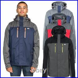 Trespass Mens Waterproof Jacket with Hood Taped Seams XXS -XXXL Wooster