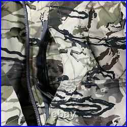 UA Under Armour Timber Hunting Jacket Ridge Reaper Barren Camo 1316734-999 Large