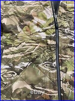 UNDER ARMOUR Forest Hunting Jacket Extra Large Ridge Reaper Barren Camo Extreme