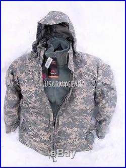 US Army GEN 2 EWCWS Goretex Cold Weather Waterproof Acu Parka or Fleece Jacket