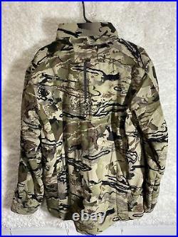 Under Armour Grit Jacket Barren Camo Men's Size LG- 1320252-999 Hunting BNWT
